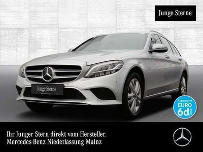 gebraucht Mercedes C220 T d 4M Avantgarde LED Keyl-GO Kamera SpurPak