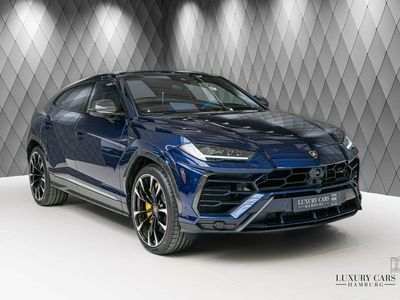 "gebraucht Lamborghini Urus 2020 BLUE / BLUE CARBON PANORAMIC B&O 23"""