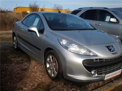 gebraucht Peugeot 207 CC SPORT.Tüv 8/18,TOP gepflegt, sportliches Cabrio