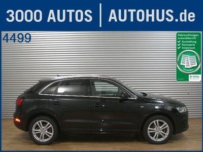 gebraucht Audi Q3 2.0 TDI Quattro S-Line Navi+ Xenon+ Sound