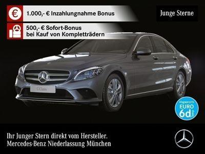 gebraucht Mercedes C200 4M Avantgarde Multibeam SHD Kamera SpurPak