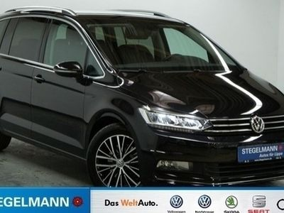 gebraucht VW Touran Highline 2.0 TDI DSG AHK LED GRA
