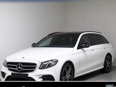 käytetty Mercedes E220 T AMG Sport Night Navi LED Pano Umweltbo