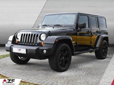 gebraucht Jeep Wrangler 2.8 CRD Aut. Unlimited Sahara Navi+SHZ