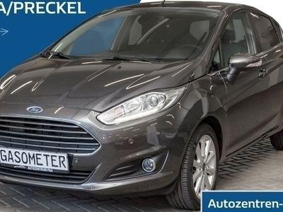 gebraucht Ford Fiesta Titanium 1.0 EcoBoost / Klima / PDC / SHZ / LED