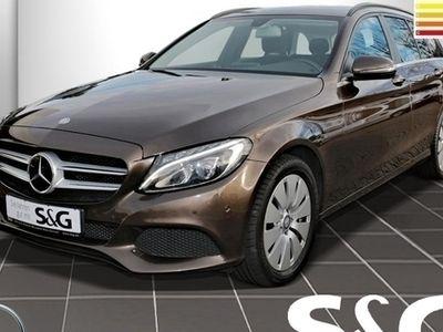 gebraucht Mercedes C220 d T 4MATIC Distronic/Navi/LED/Sitzheizung