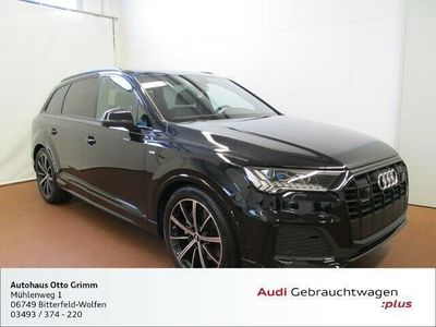 gebraucht Audi Q7 S line 50 TDI quattro Tiptronic KLIMA NAVI ALU