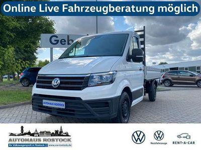 gebraucht VW Crafter 35 Pritsche 2.0 TDI L2 FWD KLIMA AHK