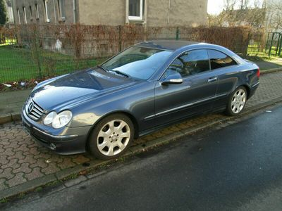 gebraucht Mercedes CLK240 Avantgarde*Voll*Leder*Navi*Xenon*SHZ*TÜV