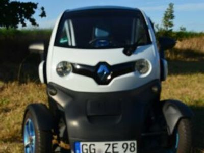 gebraucht Renault Twizy (Miet-Batterie) Color, Iglu-Weiß - Blau