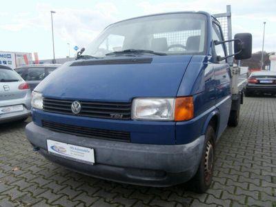 gebraucht VW T4 Pritsche*Ladekran*AHK*Klima*grüne Plaket