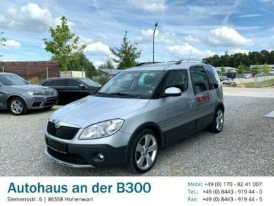 gebraucht Skoda Roomster Scout Plus Edition 1.2 TSI Panorama Multif.Lenkrad