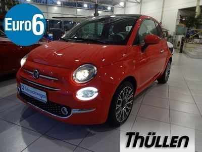 gebraucht Fiat 500 1,2 8V Lounge 1,2 Klima, Glasdach, Bluetooth