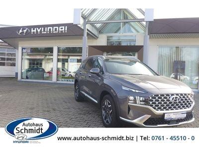 gebraucht Hyundai Santa Fe Facelift Prime Hybrid 4WD Navi HUD Panorama Dach LED Keyless