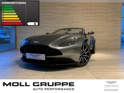 gebraucht Aston Martin DB11 V8 Volante, Magnetic Silver, B&O, Lords Red