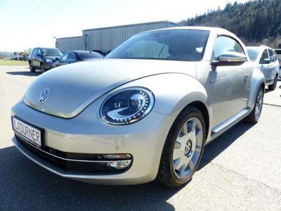 gebraucht VW Beetle NewCabriolet 2.0 TSI DSG BMT Karmann