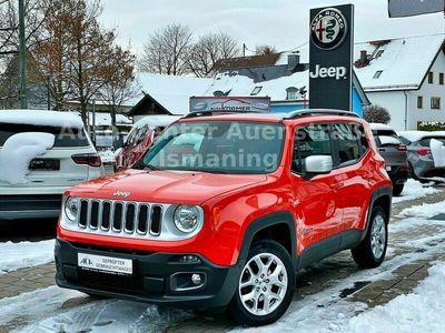 """gebraucht Jeep Renegade 2.0l MultiJet 9AT 4x4 """"Limited Pano AHK als SUV/Geländewagen/Pickup in Ismaning"""