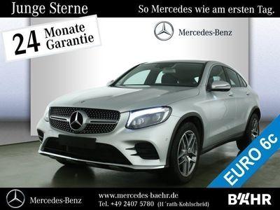 gebraucht Mercedes GLC350 d 4MATIC Coupé AMG Line Exterieur/SHD/BC Klima