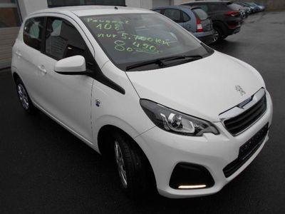 gebraucht Peugeot 108 5.Türig,Bluetooth,Klima nur 5.800 KM