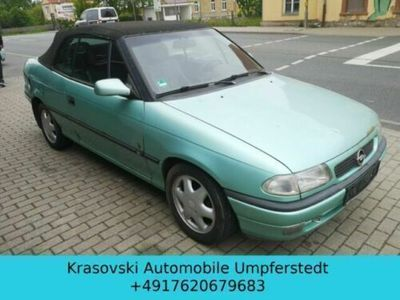 begagnad Opel Astra Cabriolet 1.6 Bertone Vollleder elektr. Dach