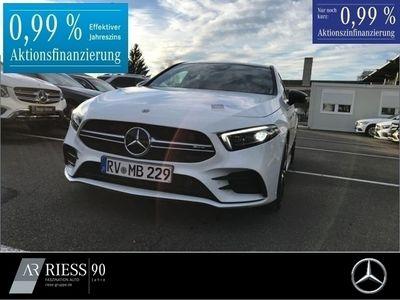 gebraucht Mercedes A35 AMG 4M Designo+Burmester+Fahrassist.