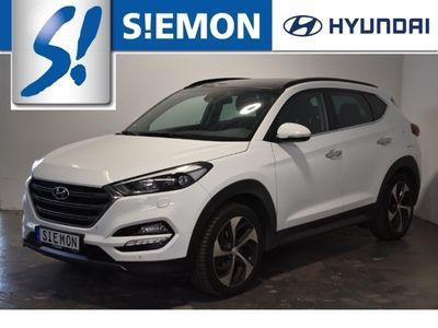 gebraucht Hyundai Tucson 2.0 CRDi 4WD Premium VOLL AHK Leder Panodach