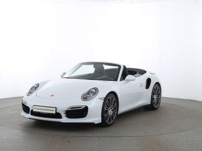 gebraucht Porsche 991 (911) Turbo Cabriolet   PTV Plus  