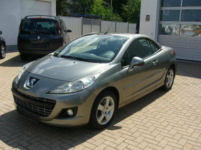 gebraucht Peugeot 207 CC Cabrio-Coupe Premium*1-Hand*