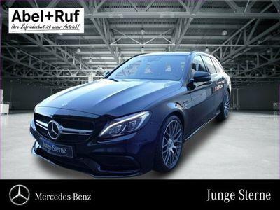 käytetty Mercedes C63S AMG - BENZT Night Burm HUD Distr Pano Memory 360°