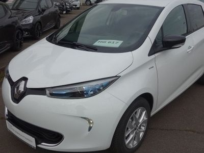 second-hand Renault Zoe LIFE Batteriemiete Option auf LIMITED Paket