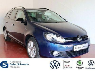 gebraucht VW Golf VI Variant 1.2 TSI Match AHK+GRA+Shz+Navi
