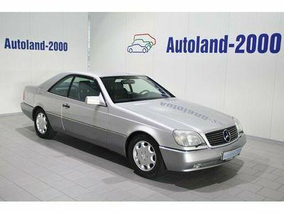 used Mercedes 600 SEC Deutsches Fahrzeug-Lück.Scheckheft