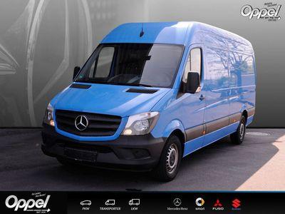 gebraucht Mercedes Sprinter 314 KA Hochdach Lg Klima+6Gg+Holzfußb+Trennw+ZV+