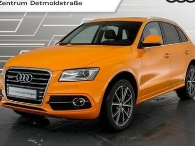gebraucht Audi Q5 2.0 TDI qu. S line Sport Edition plus Pano Leder Navi Xenon 20Zoll PDCplus S tronic