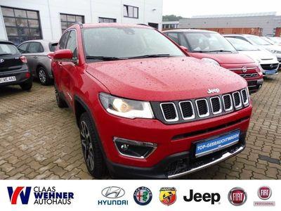 gebraucht Jeep Compass 2.0 MultiJet Active Drive Automatik Limited *Klima