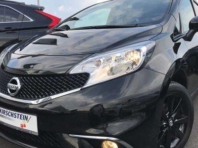 gebraucht Nissan Note 1.2 Black Edition Sitzheizung Navi Klimaaut.