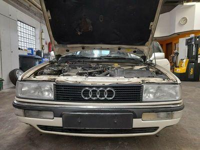 gebraucht Audi 90 2.3 E, Perlmutweiß ,5 Zylinder NG Motor als Limousine in Saarland - Überherrn