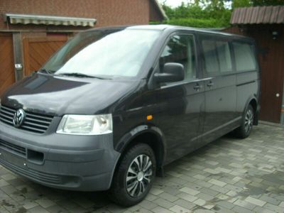 gebraucht VW Shuttle T5 Transporter Buslang + 9 Sitzer