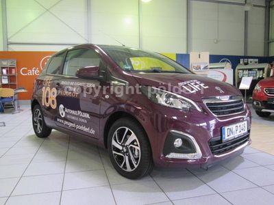 gebraucht Peugeot 108 108 PureTechAllure Klima,Touchscreen,Bluetoo