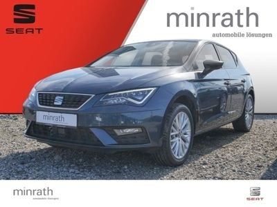 gebraucht Seat Leon Style 1.5 TSI EU6d-T PANOARMA+VOLL-LED+NAVI+17*+BUSINESS+STYLE PLUS