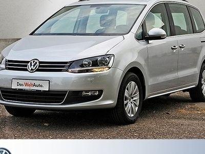 gebraucht VW Sharan 2.0 TDI DSG Comfortline Navi PanoDach GRA LM SD PDC