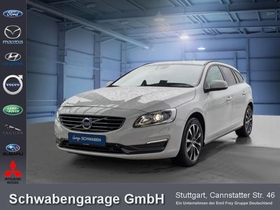 gebraucht Volvo V60 D4 Geartronic Linje Svart Navi Leder Xenon