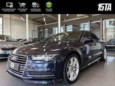 gebraucht Audi A7 Sportback 3.0 TDI S-tronic LED Navi SHZ
