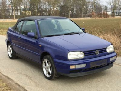 gebraucht VW Golf Cabriolet 3 1.8l Bon Jovi 2.Hd
