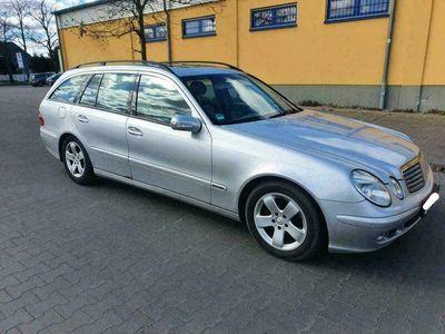 gebraucht Mercedes E220 #CDI # W211 # Kombi # SHALTGETRIEBE #