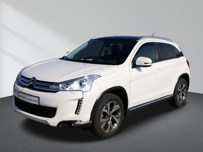 gebraucht Citroën C4 Aircross e-HDi 115 Stop & Start 4WD Exclusive Navi Glasdach Xenon Bluetooth PDC