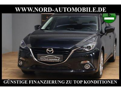 gebraucht Mazda 3 2.2 SKYACTIV-D 150 Sports-Line*Leder*Head-Up*