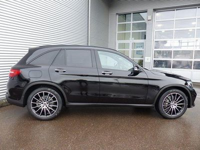 gebraucht Mercedes 350 GLCd 4M.-Night Paket-ILS-AHK-Pan.Schiebedac