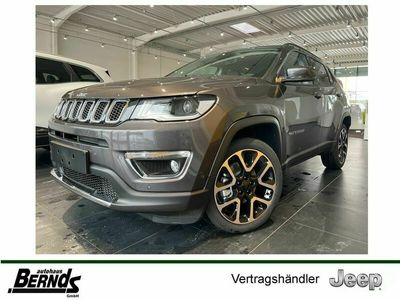 gebraucht Jeep Compass 1.3 DCT Limited NAVI_ PARK_WINTER_PAKET