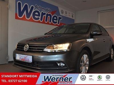 gebraucht VW Jetta Comfortline 1.4TSI Navi GRA Sitzh